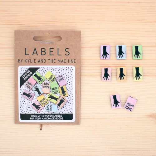 MINI HANDMADE Woven Labels by Kylie and the Machine | Blackbird Fabrics