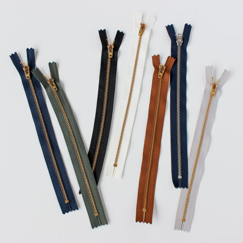 Zipper Fly Jeans Hardware Kit - Gold | Blackbird Fabrics