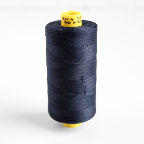 Gütermann Mara 70 Topstitching Thread - Navy | Blackbird Fabrics