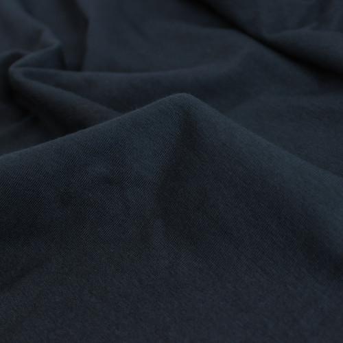 Cotton Modal Jersey Knit - Navy | Blackbird Fabrics