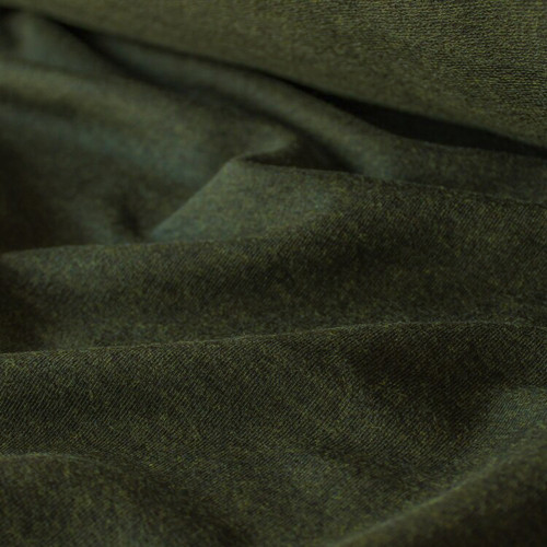 Tencel & Organic Cotton French Terry - Heather Forest | Blackbird Fabrics