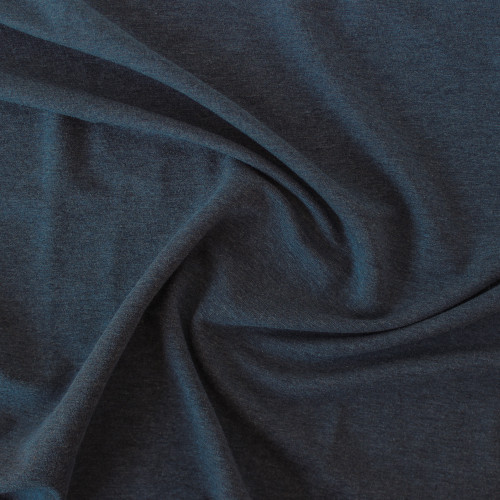 Tencel & Organic Cotton French Terry - Heather Lake | Blackbird Fabrics