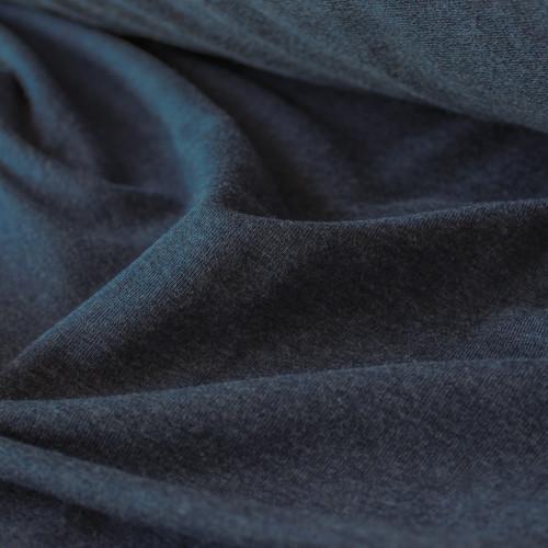 Tencel & Organic Cotton French Terry - Heather Lake - 1/2 meter