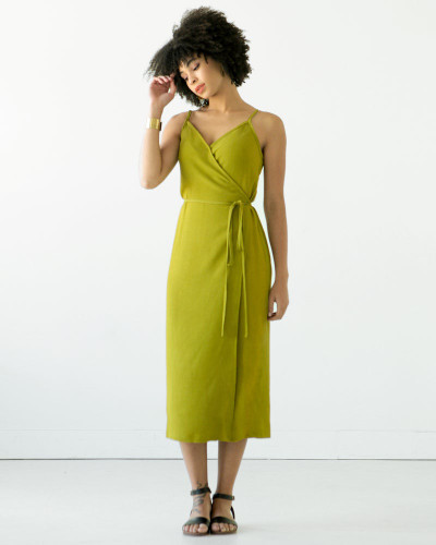 Calvin Wrap Dress & Top by True Bias | Blackbird Fabrics