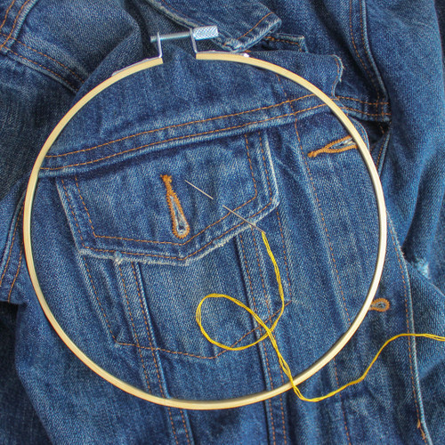 Bring Your Own Garment Hand Embroidery Open Studio - December 16th | Blackbird Fabrics