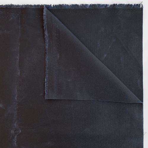 14oz Waxed Cotton Canvas - Navy | Blackbird Fabrics