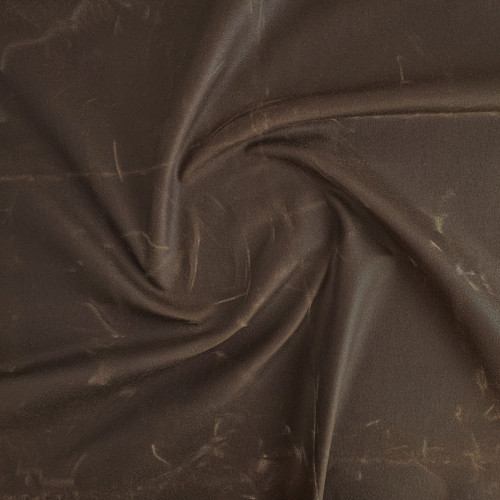 14oz Waxed Cotton Canvas - Cacao | Blackbird Fabrics