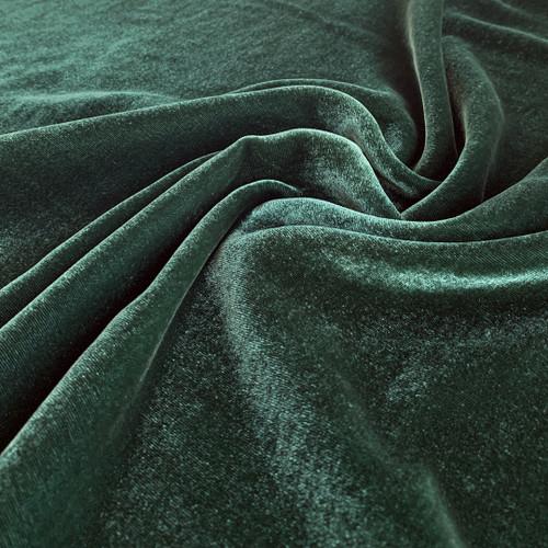 Silk Rayon Velvet - Agave   Blackbird Fabrics