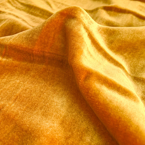 Silk Rayon Velvet - Iridescent Sunset | Blackbird Fabrics