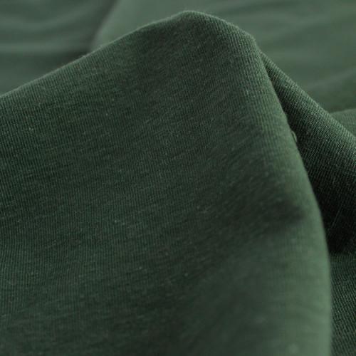 Hemp & Organic Cotton Jersey - Pine | Blackbird Fabrics