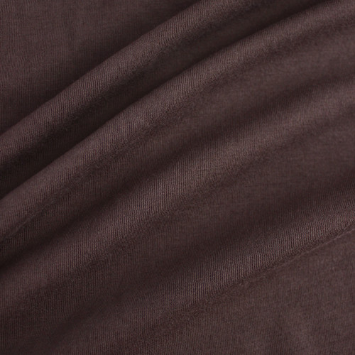 100% Organic Cotton Jersey Knit - Mauve Brown - 1/2 meter