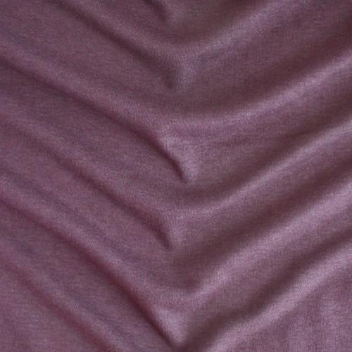 Bamboo & Cotton Sweatshirt Fleece - Grape | Blackbird Fabrics