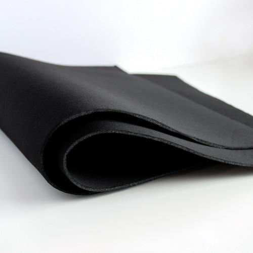 Cut & Sew Foam Padding - Black - Fat Quarter | Blackbird Fabrics