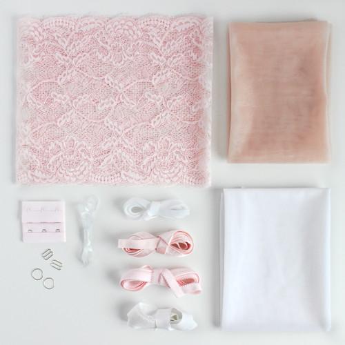 Lace Bra Kit - Blush | Blackbird Fabrics