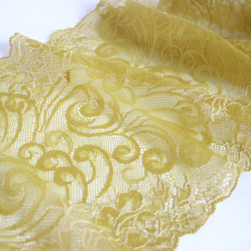 Lace Bra Kit - Chartreuse/Lilac   Blackbird Fabrics