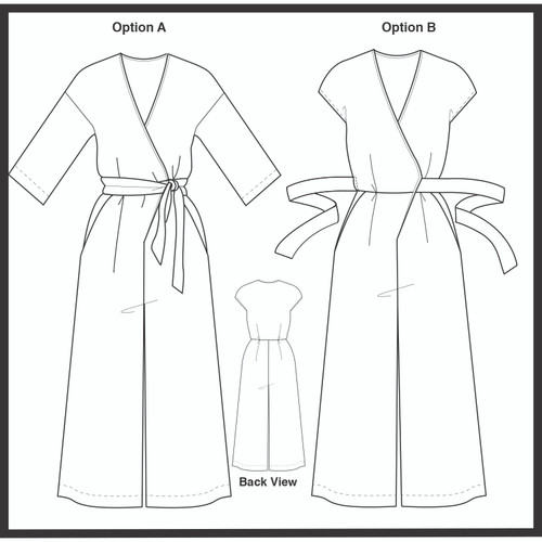 Sew Your Own Zadie Jumpsuit - June 19th & 20th | Blackbird Fabrics