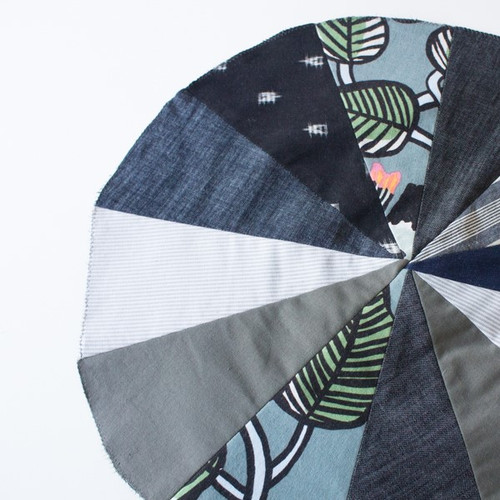 Sew Your Own Scrap-busting Floor Pouf - May 12th   Blackbird Fabrics