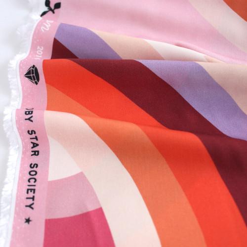 Daydream Printed Rayon - Sunset   Blackbird Fabrics