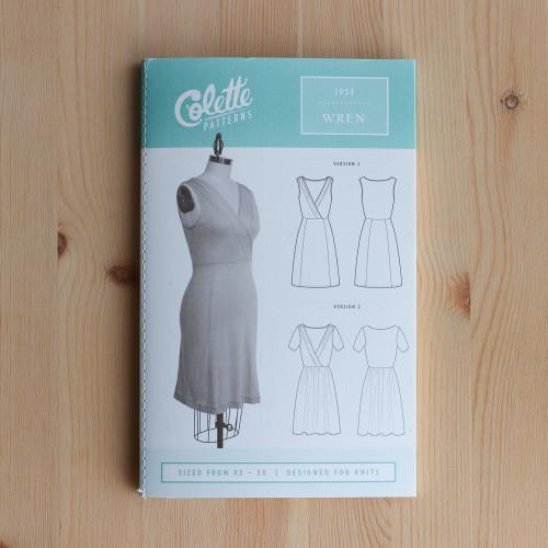 Wren by Colette Patterns | Blackbird Fabrics