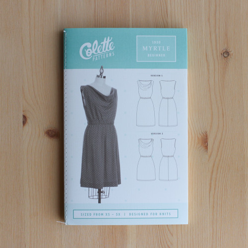 Myrtle by Colette Patterns | Blackbird Fabrics