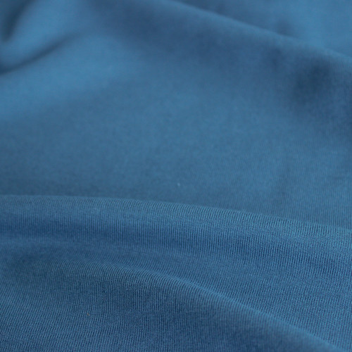 Bamboo Cotton French Terry - Blue Jean | Blackbird Fabrics