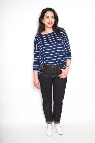 Morgan Jeans by Closet Case Patterns | Blackbird Fabrics