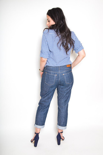 Morgan Jeans by Closet Case Patterns | Blackbird Fabrics