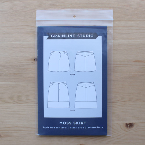 Moss Skirt by Grainline Studio | Blackbird Fabrics