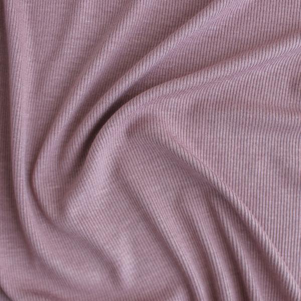 Micro Rib Knit - Dusty Rose | Blackbird Fabrics