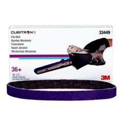 3m, cubitron, belt, abrasive, 10mm, 330mm