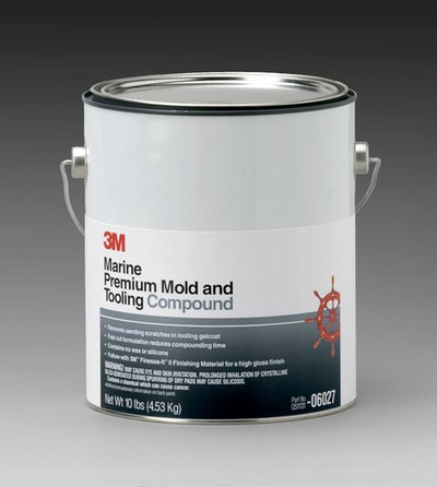 3m, 6027, mould and tool, compound, 4.53kg, polishes and compounds