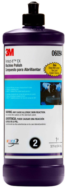 3m, 6094, perfect it, ex machine, polish, polishes and compounds