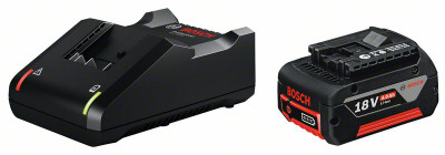 BOSCH 18v 4.0Ah CHARGER AND BATTERY