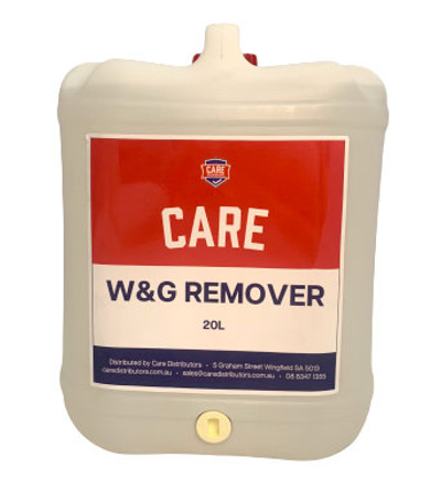CARE WAX & GREASE REMOVER 20L