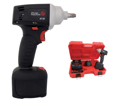 CHICAGO PNEUMATIC CP8738 CORDLESS IMPACT DRILL