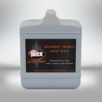 JUICE BUDGET WASH + WAX 20L