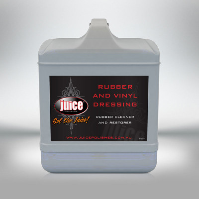 JUICE RUBBER AND VINYL DRESSING 20L (TYRE SHINE)