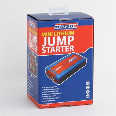 MATSON LITHIUM JUMP STARTER 12V 10000MAH