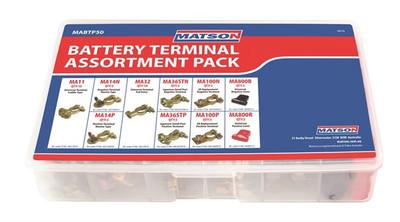 MATSON BATTERY TERMINAL ASSORTMENT - BOX 50