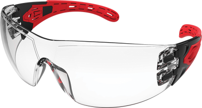 EVOLVE CLEAR SAFETY GLASSES WITH GASKET & HEADBAND