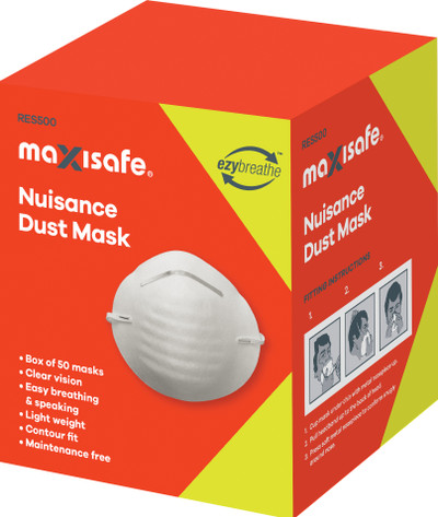 P2 DUST MASK WITH VALVE BOX OF 10