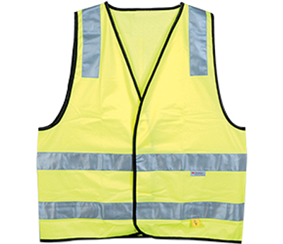 YELLOW DAY/NIGHT SAFETY VEST