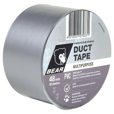 NT PVC DUCT TAPE 48mm PK6