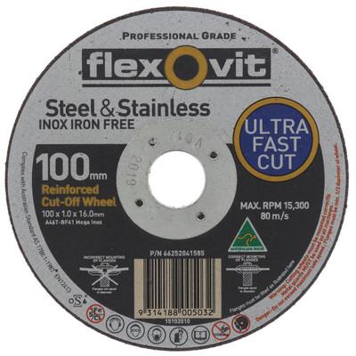FLEXOVIT 100MM THIN C/OFF