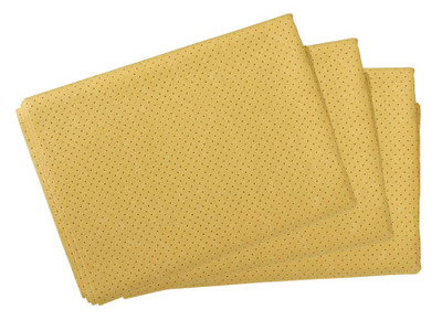 3 PACK CHAMOIS PERFORATED 55X54CM