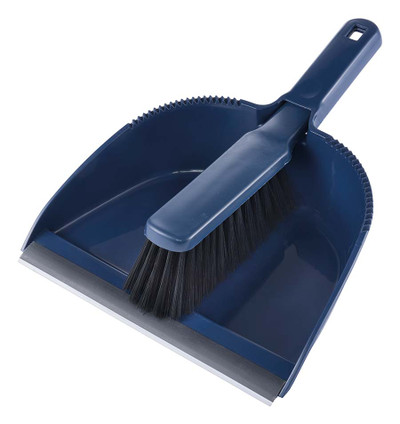 ALL PURPOSE DUST PAN AND BROOM
