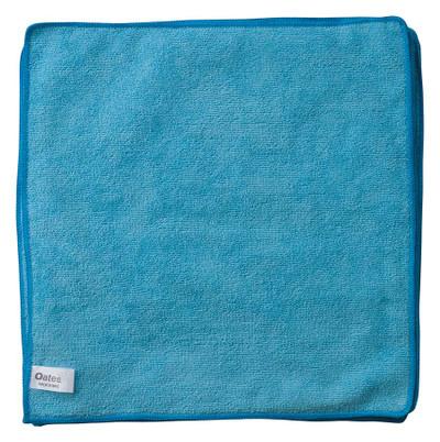 OATES BLUE MICROFIBRE CLOTHS (PK 10) 35CMX35CM