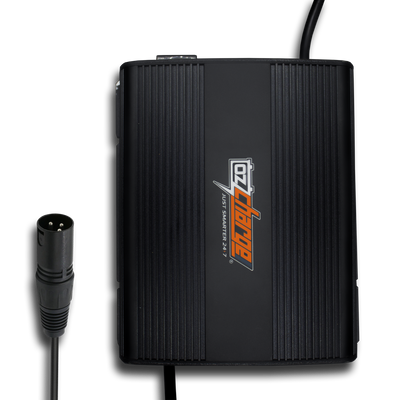 24V 8A MOBILITY BATTERY CHARGER - 3 PIN XLR TYPE CONNECTOR- IP51