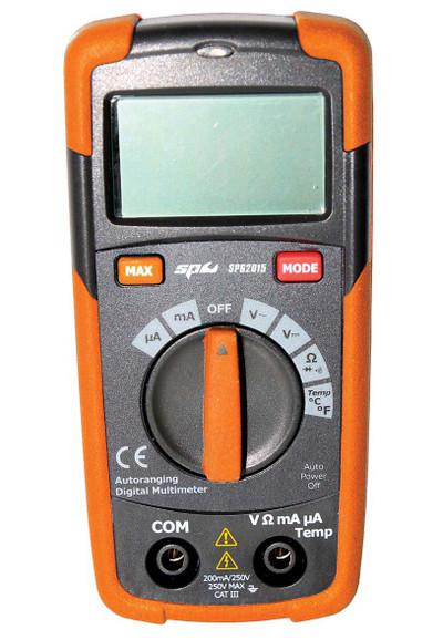 SP62015 DIGITAL MULTIMETER WITH TEMP PROBE