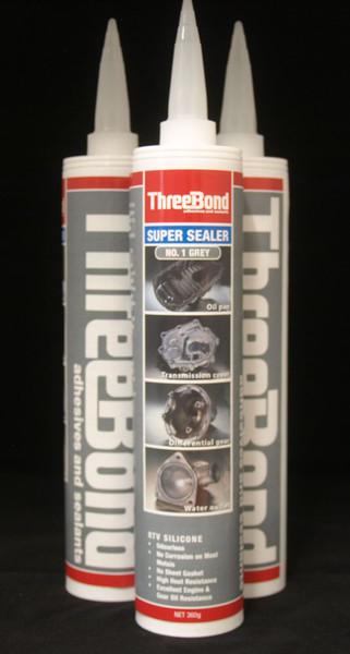 THREEBOND SUPER SEALER NO 1 RTV GREY  CARTRIDGE 330ML